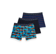 Scotch & Soda Boxershorts 3Pack Print Multicolor (157597 - 0218)