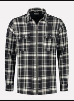 Dstrezzed Shirt Jacket Print Ruit Zwart (303358 - 999)