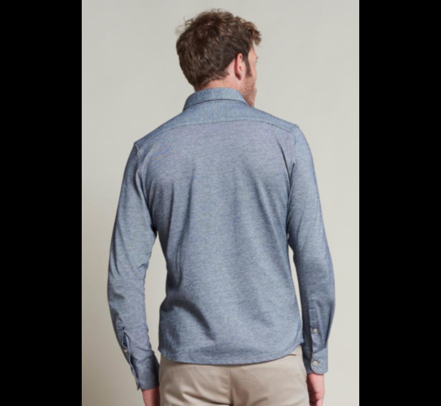 Overhemd Slim Fit Navy Blauw (303368 - 649)