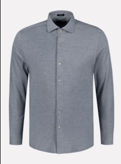 Dstrezzed Overhemd Slim Fit Navy Blauw (303368 - 649)