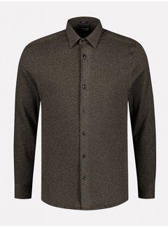Dstrezzed Overhemd Slim Fit Mosterd Geel (303378 - 331)
