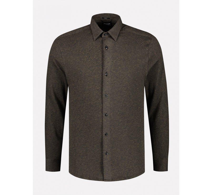 Overhemd Slim Fit Mosterd Geel (303378 - 331)