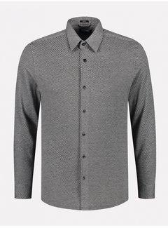 Dstrezzed Overhemd Slim Fit Grijs Melange (303378 - 898)