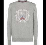 Tommy Hilfiger Sweater Crest Aartwork Grijs (MW0MW10761- 501)