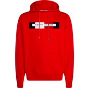 Tommy Hilfiger Hooded Sweater Logo Rood (MW0MW11579 - XBE)