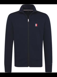 Tommy Hilfiger Vest Logo Zip Navy (MW0MW10755 - 403)