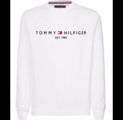 Tommy Hilfiger Sweater Logo Wit (MW0MW11596 - YAF)