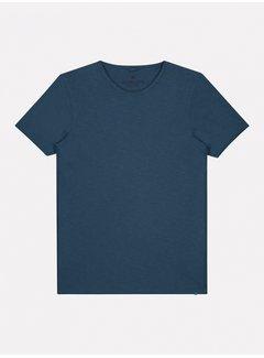 Dstrezzed T-shirt Mc. Queen Basic Steel Blauw (202274 - 684)