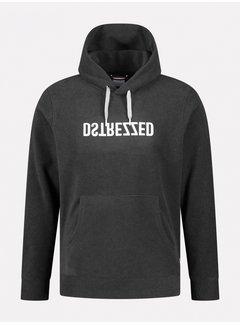 Dstrezzed Hooded Sweater Fleece Grijs (211332 - 898)
