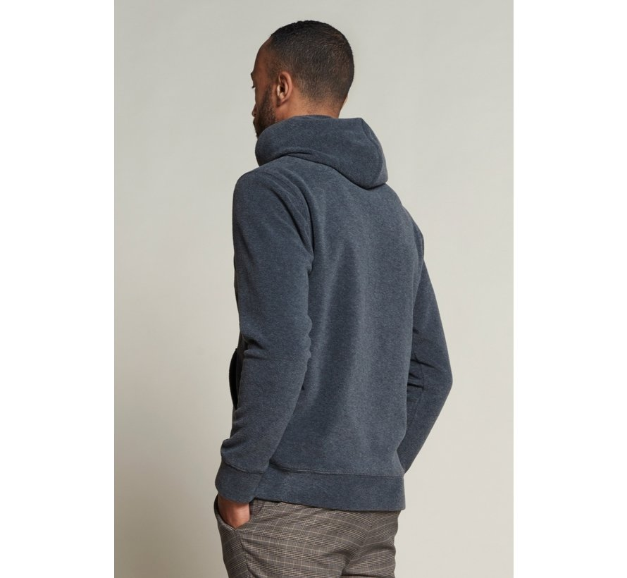 Hooded Sweater Fleece Grijs (211332 - 898)
