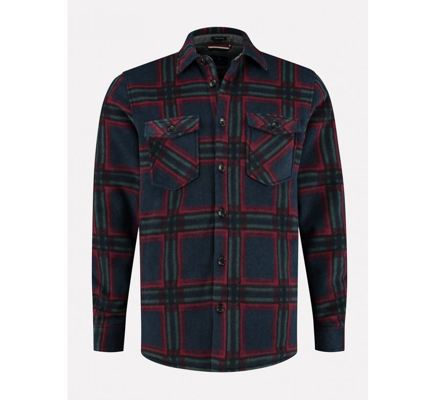 Overshirt Fleece Check Multicolor (211334 - 649)