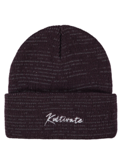 Kultivate Muts AC KV Beanie Paars (1801043204 - 412)