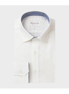 Michaelis Overhemd Twill Wit (PMRH100054)