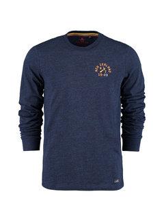 New Zealand Auckland Longsleeve T-shirt Papaitonga Navy (20GN703 - 263)