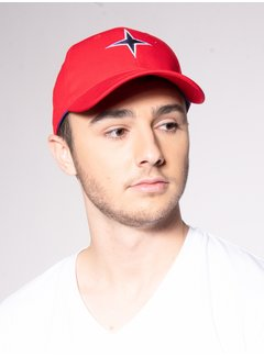 Haze&Finn Cap Rood (MC11-0915 - red)