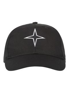 Haze&Finn Cap Logo Star Zwart (MC11-0915-Black)