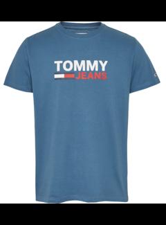 Tommy Hilfiger T-shirt Logo Audacious Blue (DM0DM07843 - CZY)