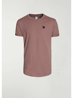 CHASIN' T-shirt Ronde Hals BRODY Roze (5211.213.141 - E45)