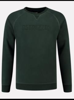 Dstrezzed Sweater Met Logo Groen (211336 - 513)