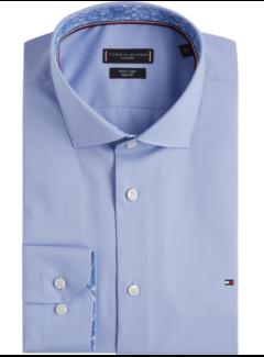 Tommy Hilfiger Overhemd Stretch Slim Fit Extra Mouwlengte Blauw (TT0TT05557 - 412)