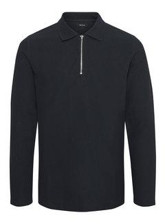 Matinique Longsleeve Poleo Poloshirt Half-Zip Dark Navy (30204786 - 194011)