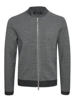 Matinique Vest Parry Knitted Medium Grey Melange (30204838 - 300271)