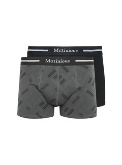 Matinique Boxershorts Grant 2-Pack Zwart (30205048 - 300275)