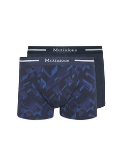 Matinique Boxershorts Grant 2-Pack Dark Navy (30205048 - 194011)