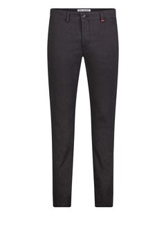 Mac Chino Lennox 090B Black Printed (6365-00-0678L)