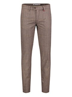 Mac Chino Lennox 272K Dark Taupe Check (6344-00-0732L)