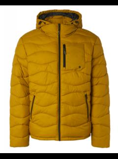 No Excess Winterjas Hooded Padded Wavy Quilted Goud Geel (97630815SN - 073)N