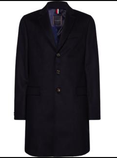 Tommy Hilfiger Coat Chestfield Wol Navy (TT0TT06207 - DW5)