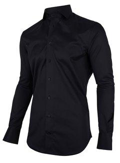 Cavallaro Napoli Overhemd Nosto Zwart (110999041 - 999000)N