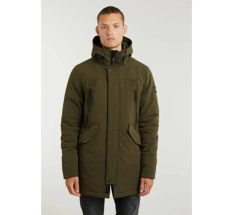 Winterjas Explorer Hybrid Army Green (7114.345.003 - E50)