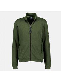 Lerros Vest Sweatstof Modern Fit Pine Green (2084503 - 661)