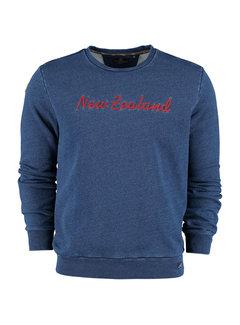 New Zealand Auckland Sweater Manapouri Indigo (20HN325 - 396)