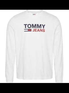 Tommy Hilfiger Longsleeve T-shirt Wit (DM0DM09487 - YBR)