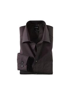 Olymp Overhemd Luxor Mouwlengte 7 Modern Fit Zwart (0300 69 68)