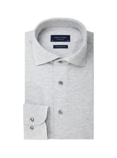 Profuomo Overhemd The Knitted Shirt Grijs Melange (PP0H0A042)
