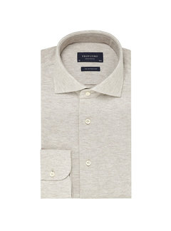 Profuomo Overhemd The Knitted Shirt Beige Melange (PP0H0A043)N