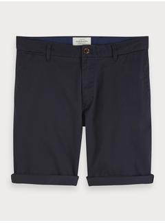 Scotch & Soda Chino Korte Broek Navy (153651 - 58)N