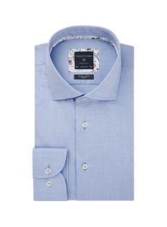 Profuomo Overhemd Slim Fit Twill Blauw (PPRH3A1003)N