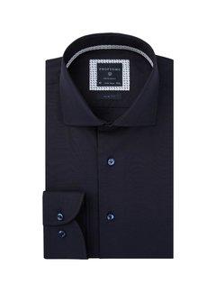 Profuomo Overhemd Slim Fit Twill Navy (PPRH3A1017)N