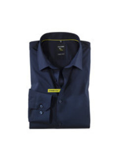 Olymp Overhemd No. Six Super Slim Fit Navy (2504 24 13)