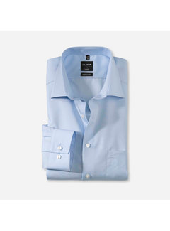 Olymp Overhemd Luxor Modern Fit Blauw (0300 64 15)