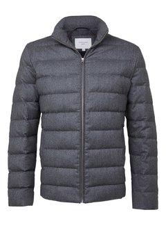 Profuomo Winterjas Grey Quilted Grijs (PPRU3C0013)N