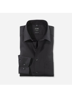 Olymp Overhemd Luxor Modern Fit Zwart (0300 64 68)N
