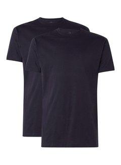 Alan Red T-shirt Virginia 2-Pack Ronde Hals Zwart (3129)