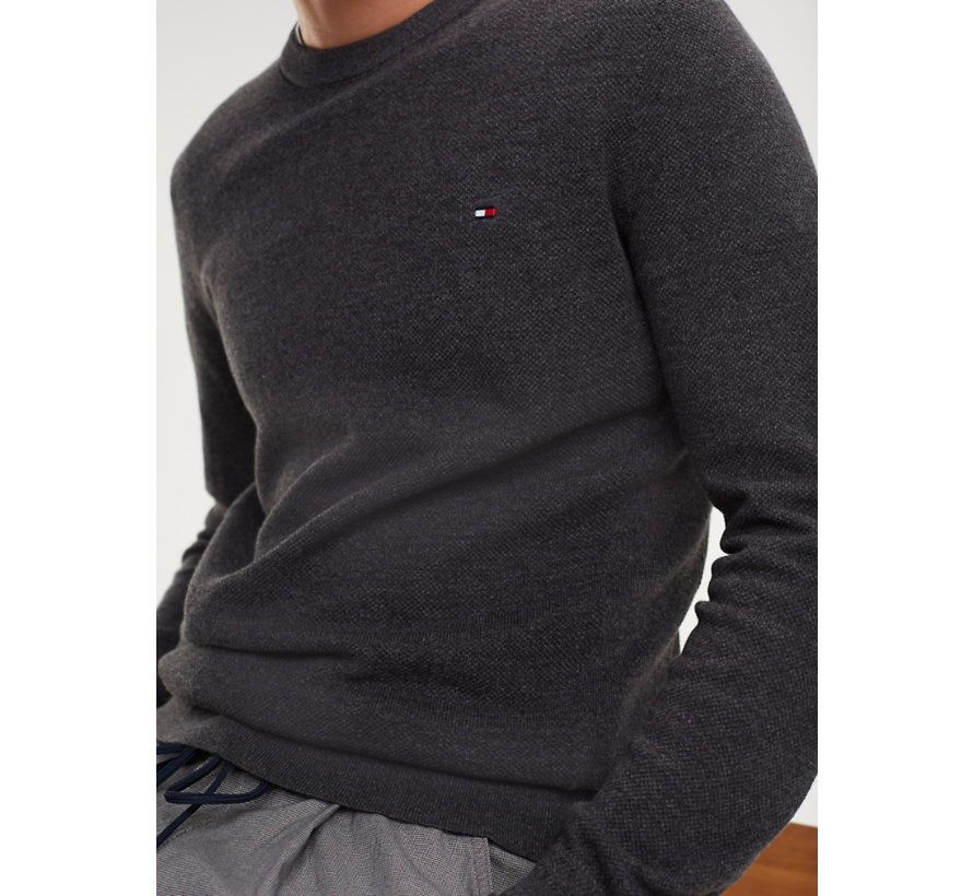 Pullover Antraciet Grijs (MW0MW10858 - 093)
