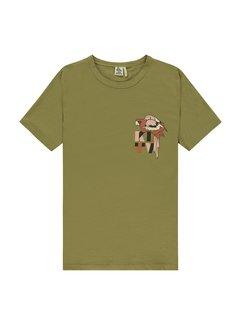 Kultivate T-shirt Parrot Groen (2001020202 - 444)